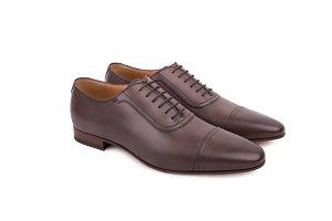 Men's lace-up dress shoes
