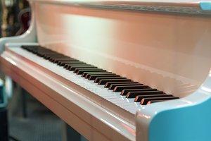 Piano keys .