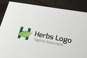 Herbs Logo - H logo
