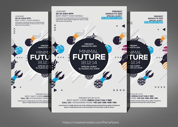 Abstract Future Flyer