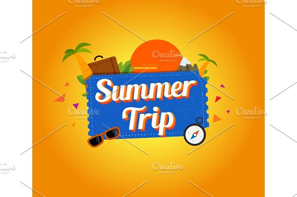 Summer Trip Logo Design