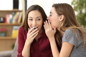 gossip girl telling a secret