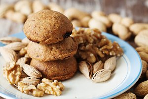 Healthy walnut cookies