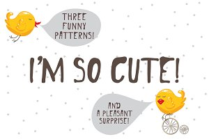 I'm so cute! Graphic set