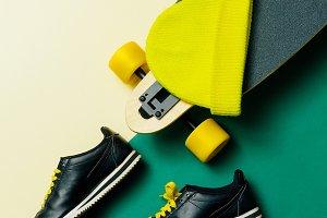 Skateboard Beanie Urban Style