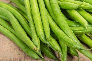 Fresh green beans
