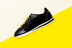 Sneakers Minimal Fashion Design
