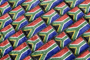South African Flag Pattern