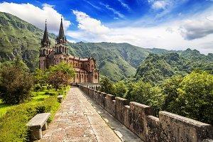 Basilica Covadonga, Asturias. Spain
