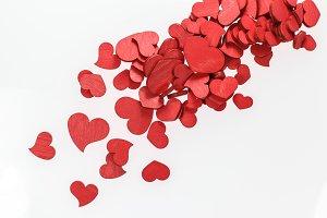 Valentine Wooden Hearts