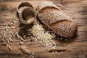 Oat bread and cereals