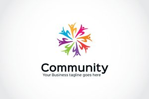 Human Community Logo Template