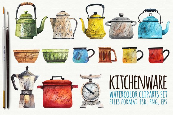 Kitchenware Elements