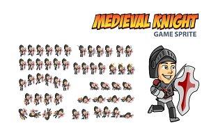 Medieval Knight Game Sprite