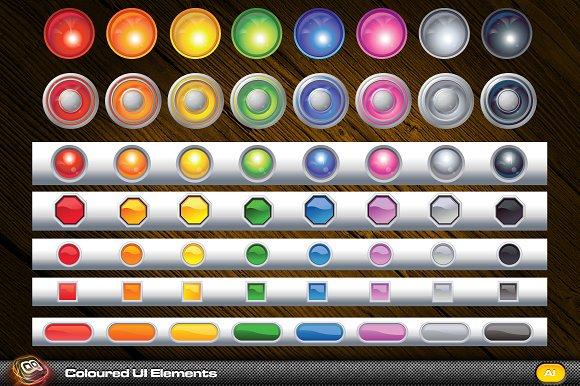 Coloured UI Elements