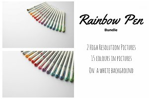 Rainbow pen set!