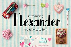 Flexander Font