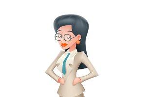Vintage Businesswoman