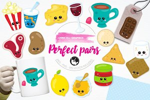Perfect pairs illustration pack