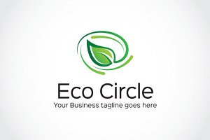 Eco Circle Logo Template