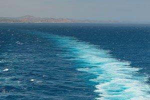 Cruise ship trace