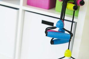 Fitness equipment rope