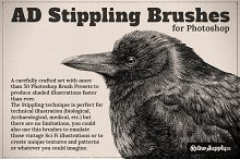 AD Stippling Brushes for Photoshop