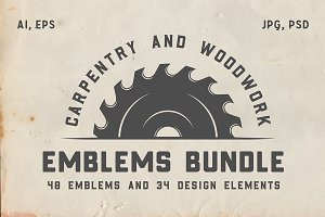 Vintage Carpentry Emblems part 2