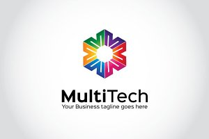 Multi Tech Logo Template