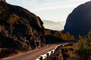 Autumn Road Trip in Norway