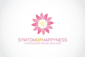 Symtom of happyness Logo Template