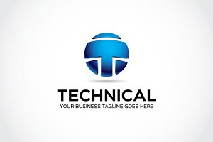 Technical  Logo Template