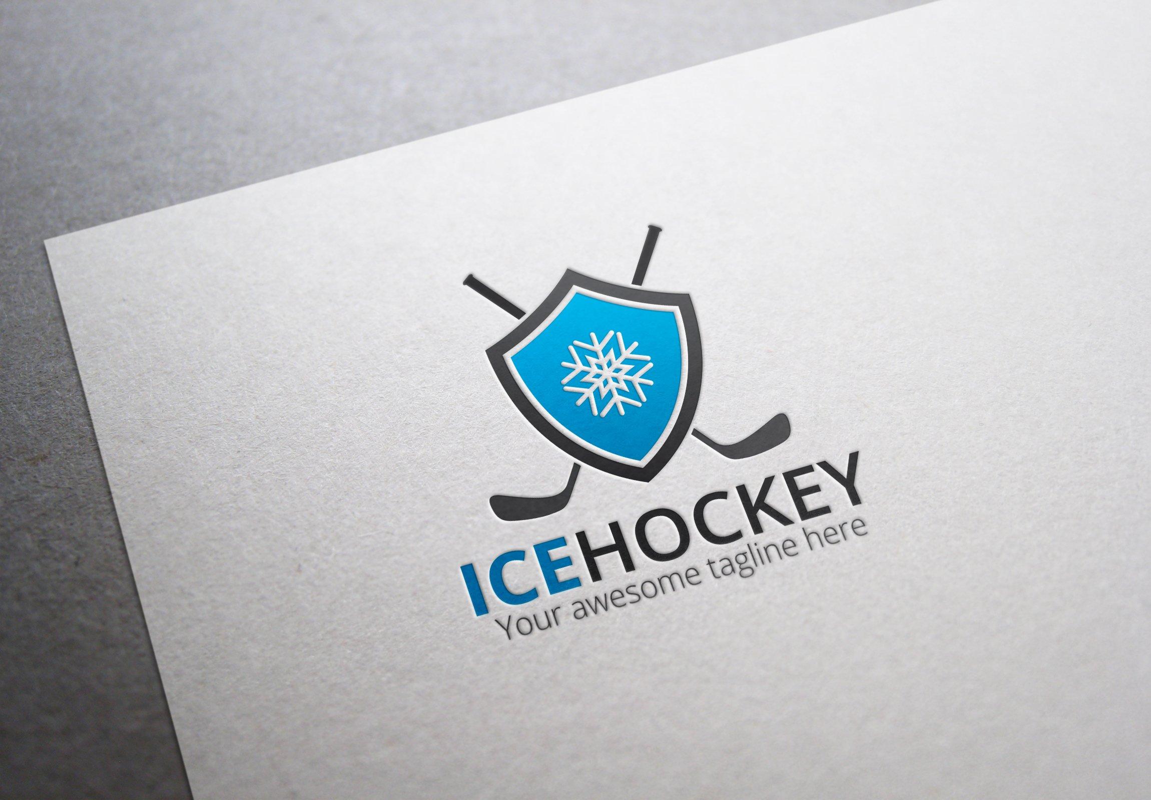 Ice Hockey Logo ~ Logo Templates ~ Creative Market