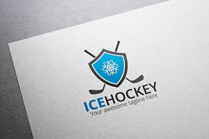 Ice Hockey Logo
