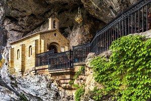 Church in Covadonga, Asturias, Spain