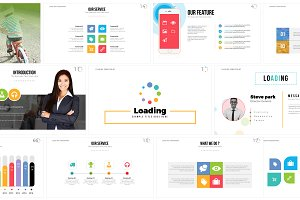 Loading PowerPoint Template