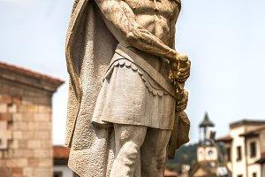 King Don Pelayo monument, Asturias