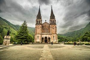 Basilica Covadonga, Asturias, Spain