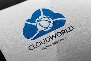 Cloud World Logo