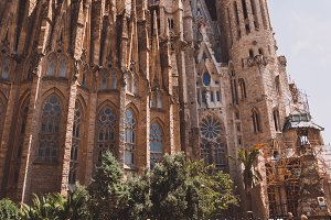 Summer in Barcelona, Spain