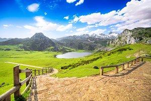 Lake Ercina, Covadonga, Asturias