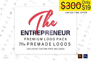 The Entrepreneur Premium Logo Pack