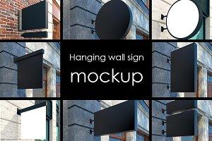 Mockup street signs, 22 jpg files