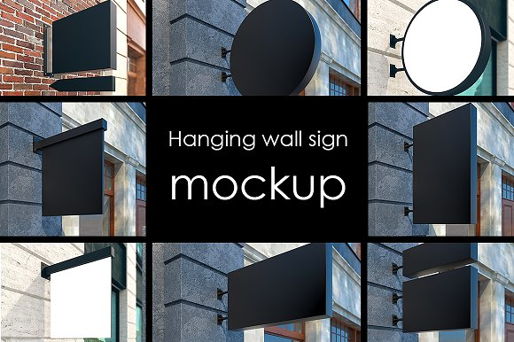 Mockup Street Signs 22 Jpg Files