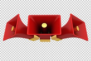 Loud Speakers - 3D Render PNG