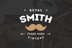 20 Vintage Logos & Badges Vol 02