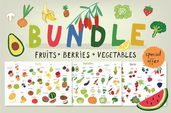 Fruits + Vegetables + Berries