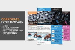Corporate Flyer Template 3