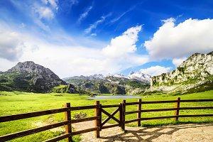 Lakes of Covadonga, Asturias, Spain