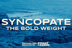 Syncopate Pro - Bold